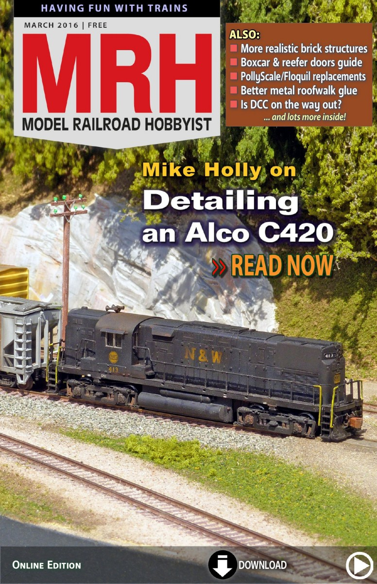 Looking for Container Crane Model Railroad Hobbyist magazine